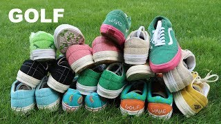 My Golf Wang SNEAKER Collection
