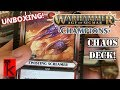 CAMPAIGN DECK: CHAOS UNBOXING! Warhammer Champions / Age of Sigmar