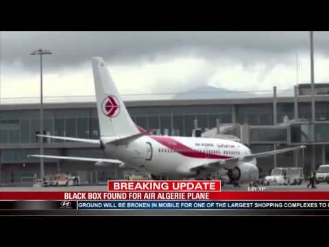 Black Box Found for Air Algerie Plane