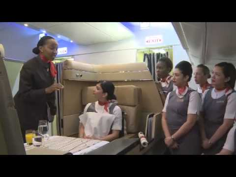 Inside Etihad Airways