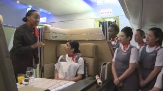 Inside Etihad Airways