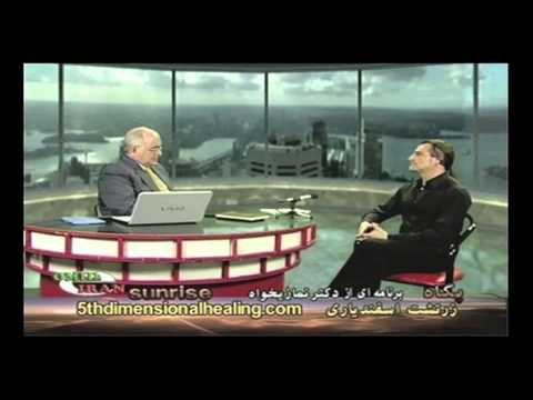 TV interview, ZARATHUSTRA with Dr. Namazihah of OMID E IRAN.