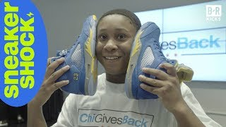 Jabari Parker Hooked Up Chicago Students with Some HEAT | Sneaker Shock S2E1 (B/R Kicks)
