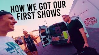 How To Book Your Punk Band (how we got our first shows) C.C.P.S.S. #7