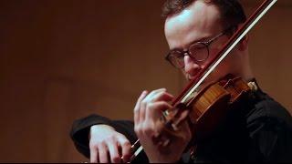 Daniel Kurganov - J.S. Bach Chaconne for violin solo - Live
