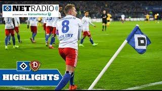 Die HSVnetradio Highlights zum Spiel gegen Dynamo Dresden