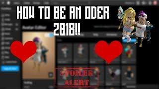 WIE EIN ODER IN ROBLOX 2018!