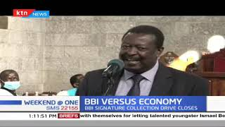 Musalia Mudavadi calls on political class to soften their hard stances on the ongoing BBI debate