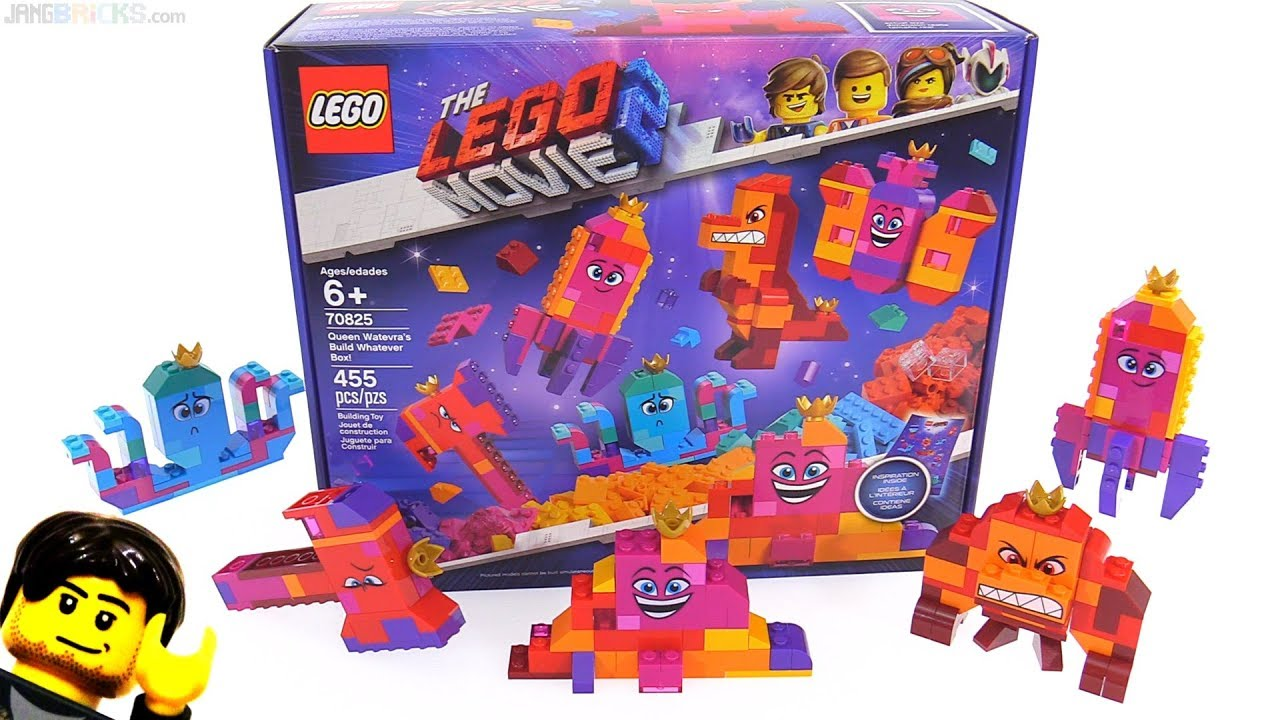 c781fe1bf8f LEGO Movie 2 Queen Watevra's Build Whatever Box reviewed! 70825 ...