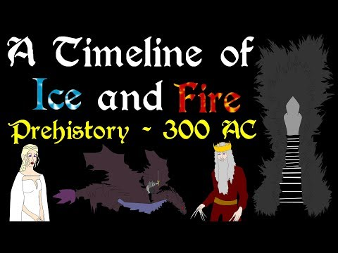 A Timeline of Ice and Fire Complete: Prehistory  300 AC