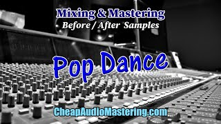 Before & After Mixing and Mastering Sample