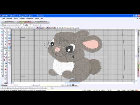 Bernina Embroidery Software Version 6 And The Free Hand Drawing Tools Youtube