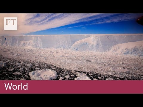 First footage after vast berg breaks from Antarctic shelf