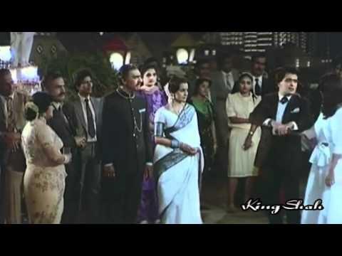 Mohammed Aziz - Mere Mehboob Ruk Jao *HD*1080p Ft Rishi Kapoor & Farah - Hamara Khandan (1988)