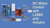Arduino Nano + L298 + DC servo = cnc servo system on the