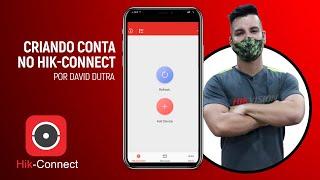 Como criar conta no Hik-Connect.