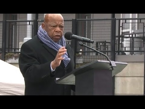 Rep. John Lewis Honors Martin Luther King Jr.