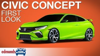 2016 Honda Civic Concept First Look | New York Auto Show