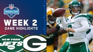 New York Jets vs. Green Bay Packers | Preseason Week 2, 2021 NFL Game Highlights