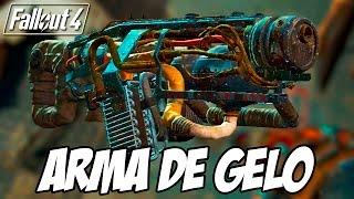 Fallout 4 - Pegando a ARMA DE GELO, no início do jogo com o Cachorro safado