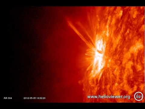 AIA 304 (2012-05-05 06:55:08 - 2012-05-06 06:14:20 UTC)
