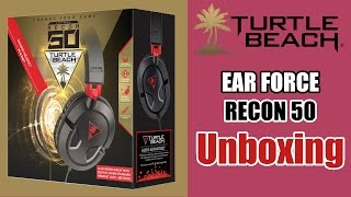let s unbox turtle beach ear force recon 50 with recording test unscripted opinions