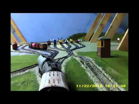 model railway gravity yard