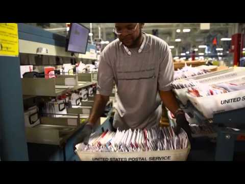 Watch How The Largest USPS Facility Processes Mail
