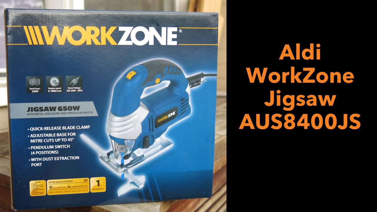 Aldi Workzone Jigsaw Youtube