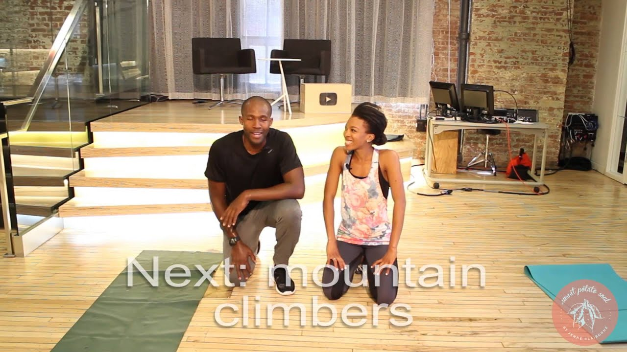 HIIT Workout with Soji   High Intensity Interval Training 7 minutes