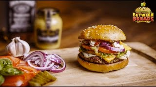 Philly Cheese Chicken Sandwich | 10 Ounce Bacon Cheese Burger | Between Breads Bandra