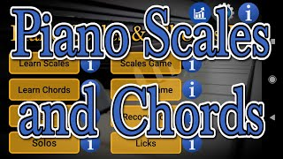 Piano Scales and Chords App