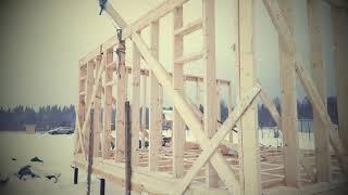 видео Д-60 Каркасный дом 8х6 м с мансардой