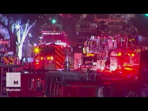 Underground Explosion Rocks Downtown Los Angeles   Mashable News