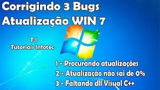 Atualização Windows Update não sai de 0% + 2 erros RESOLVIDOS!