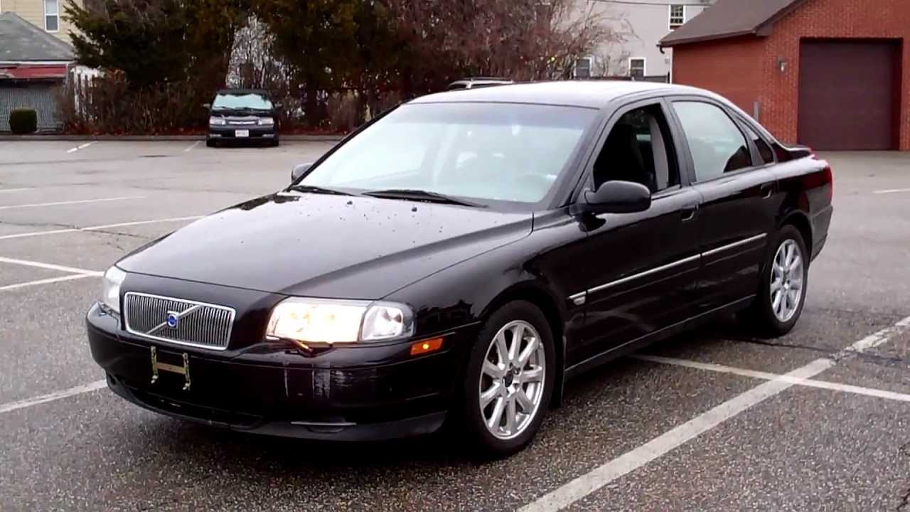 2002 volvo s80 sedan 4dr 2 9l 6cyl at leather moonroof. Black Bedroom Furniture Sets. Home Design Ideas