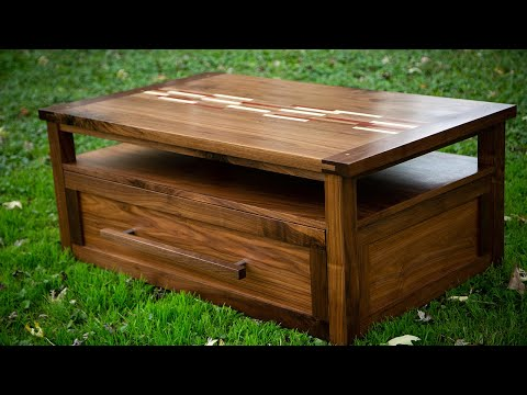 How To Build A Coffee Table - Shaker Style - Part 1