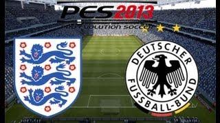 England vs Germany PES 2013