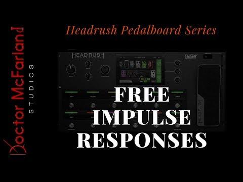 Where To Find FREE Impulse Responses | Headrush Pedalboard Series