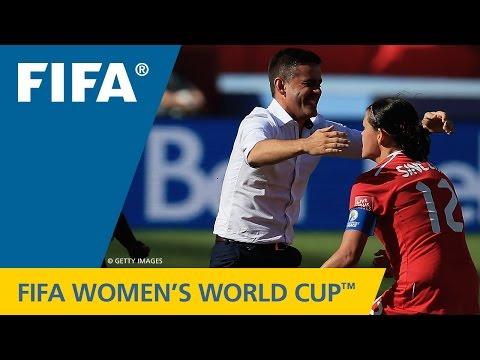 HIGHLIGHTS: Canada V. China PR - FIFA Women's World Cup 2015