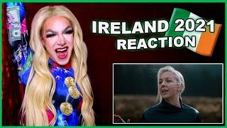 Ireland   Eurovision 2021 Reaction   Lesley Roy - Maps