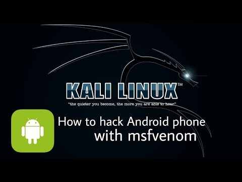 How to hack any Android Device (Kali Linux 2.0)