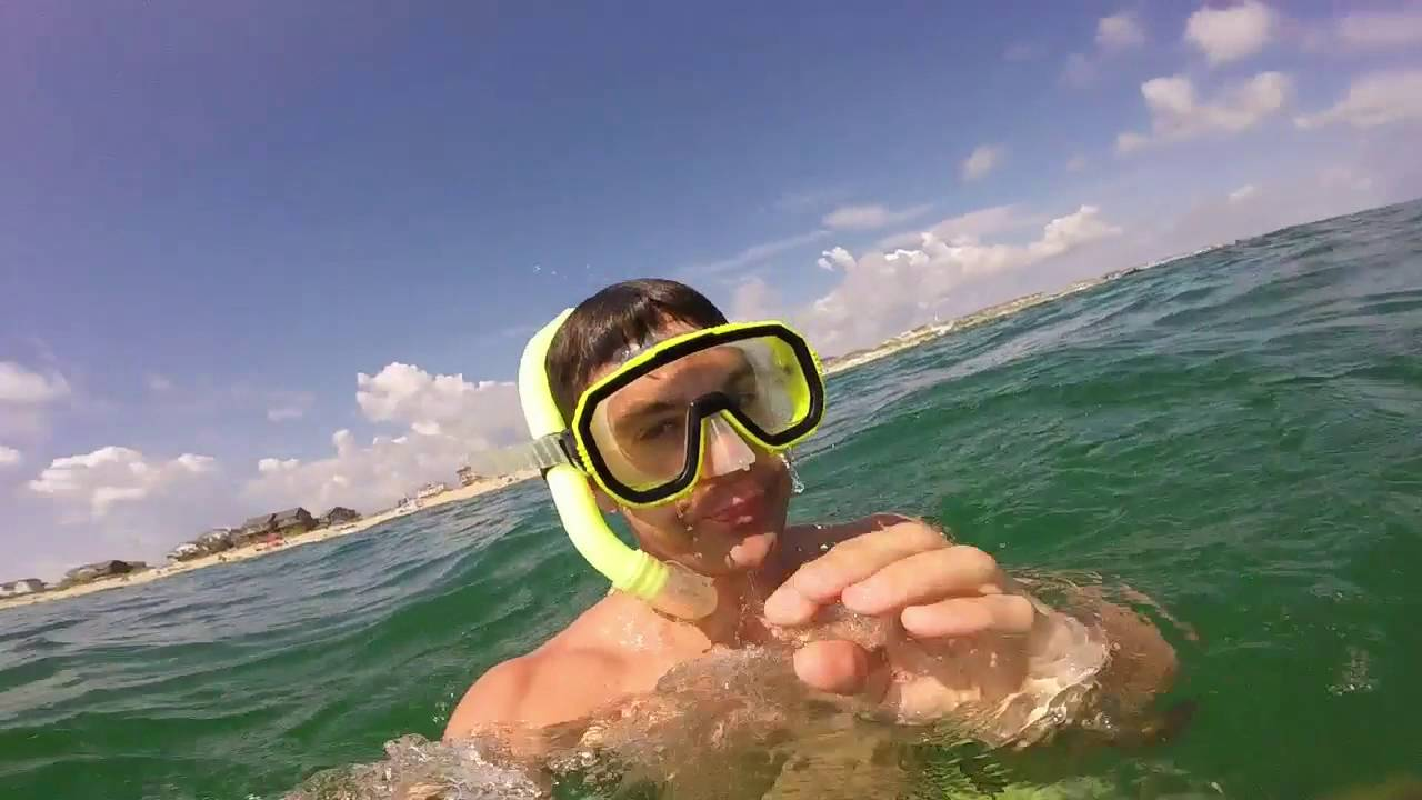 Gopro Snorkeling On The Outer Banks