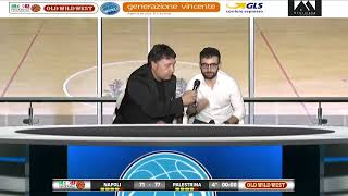 SERIE B PLAYOFF - SEMIFINALi GARA 4 - Ge.Vi. Napoli Basket - Citysightseeing Palestrina