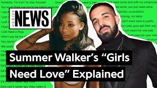 "Summer Walker & Drake's ""Girls Need Love (Remix)"" Explained 
