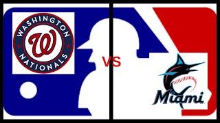 Major League Baseball Highlights (Nationals vs Marlins) Major League Baseball 2019