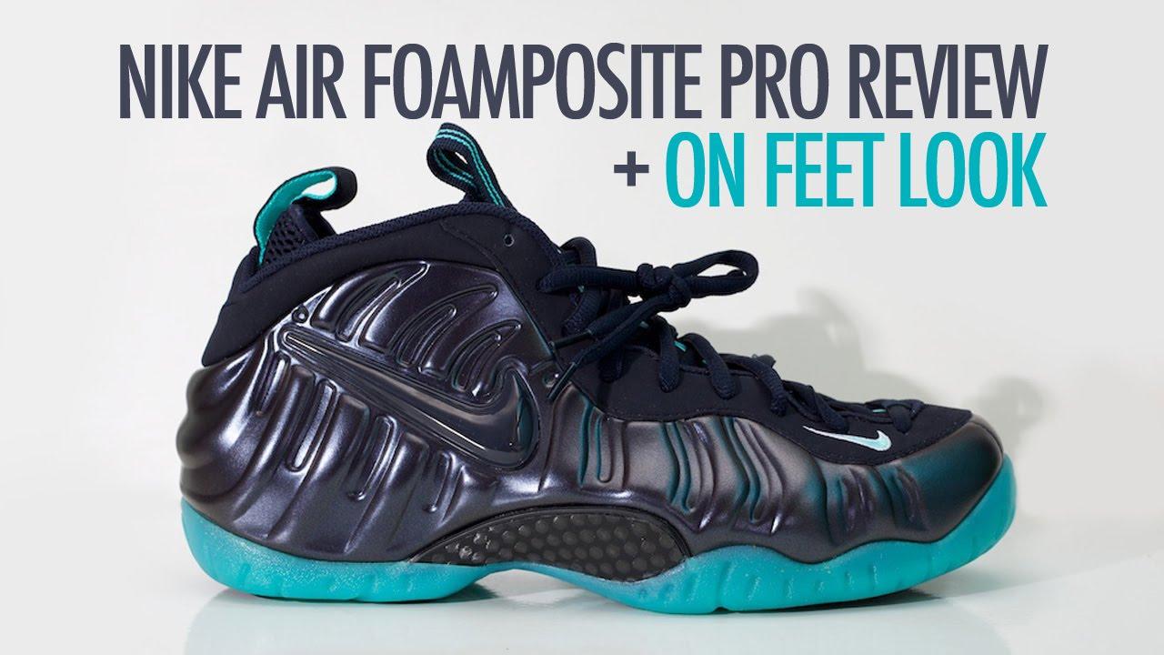 Nike Foamposite Pro Aqua