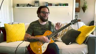 """How to play """"Lapse"""" on electric guitar"""