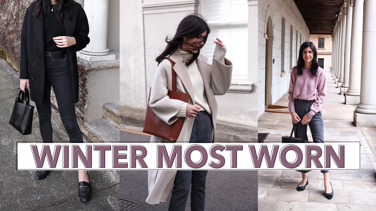 WINTER MOST WORN ITEMS (2019) – What I reached for the most (Minimal Style Wardrobe) | Mademoiselle
