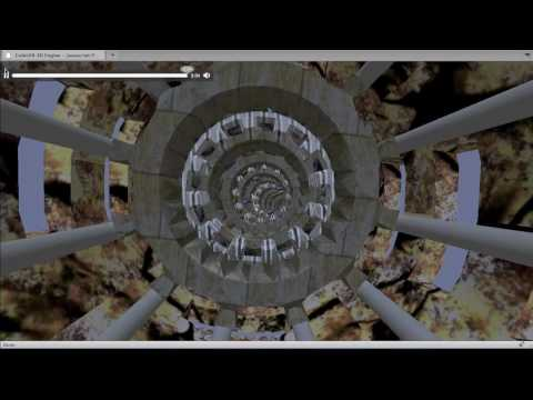 CubicVR 3D Engine WebGL BeatDetektor Visualizer Demo #4
